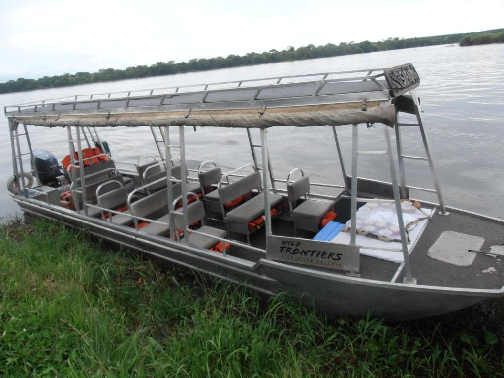 Wild Frontiers Boat